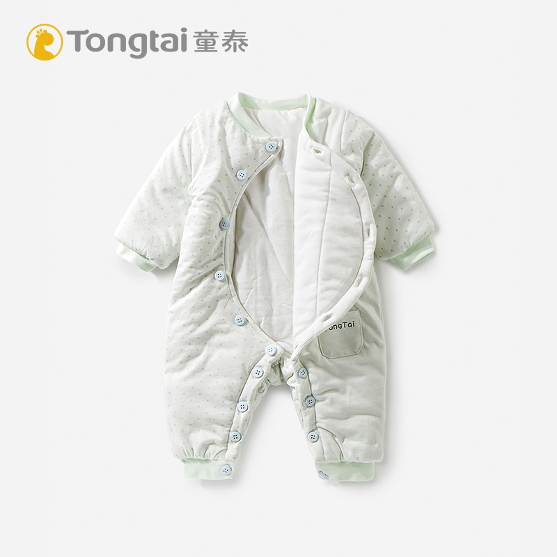 8baafb248 USD 45.10  Tong Tai cotton newborn clothes baby jumpsuit climbing ...