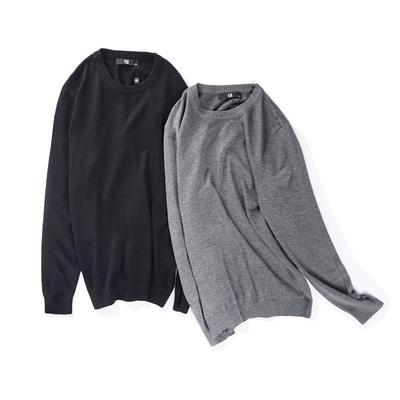 AMAPO thủy triều thương hiệu kích thước lớn nam giới béo người đàn ông cộng với chất béo tăng cổ lỏng lẻo cổ áo len dài tay áo len nam - Kéo qua