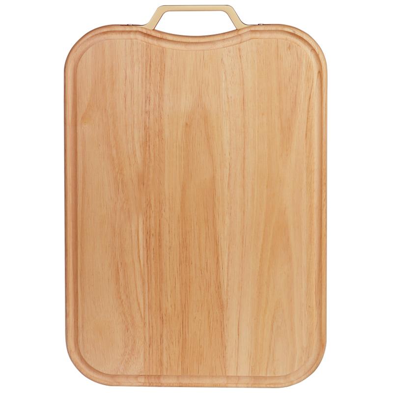 日本进口橡胶木菜板实木家用砧板切菜板厨房加厚切菜切肉案板面板