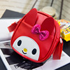 2017 new fashion Korean cartoon cute bow children's bag Messenger bag kindergarten children backpack