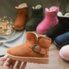 Children's shoes children's snow boots girls boots winter new baby shoes boys thick cotton boots plus velvet booties