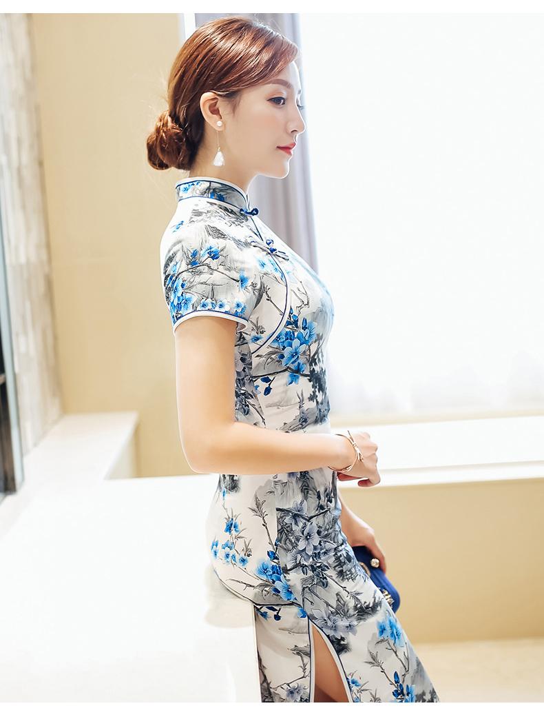 姿彩人生少女旗袍连衣裙(十七) - 花雕美图苑 - 花雕美图苑