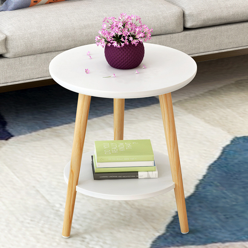 Small Round Coffee Table Bedside Table Sofa Side Table Small Round Table  Small Coffee Table Modern Minimalist Corner Several Small Nordic Small Table