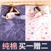 Гостиничный отель грязный спальный мешок чистый хлопок Портативная взрослая крытая женская ультралегкая антизамерзающая кровать один Походное одеяло