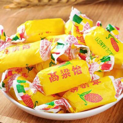 好客山东 老城寻味高粱饴软糖 老式怀旧山东特产散装零食水果480g