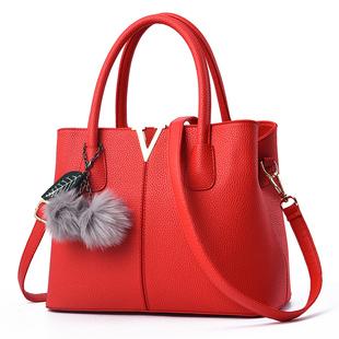 【卡妃娜】新娘包包红色婚包手提包女包