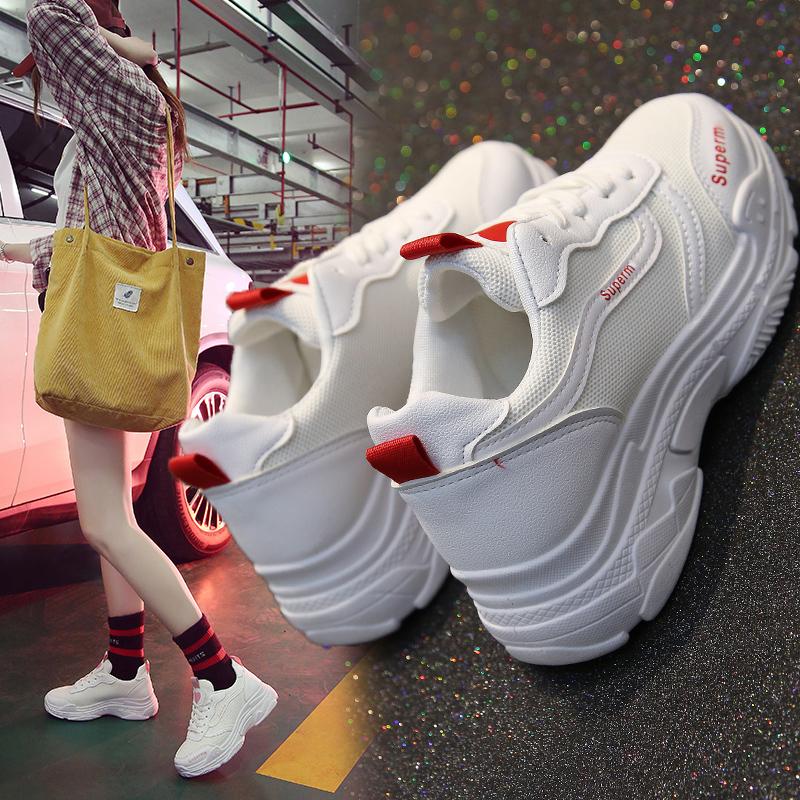 小白帆布女鞋2019夏季新款半拖鞋无后跟懒人布鞋韩版百搭春款潮鞋