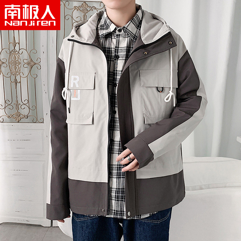 Antarctic fashion work jacket men's spring and autumn 2020 ins top trendy Korean version of the functional jacket