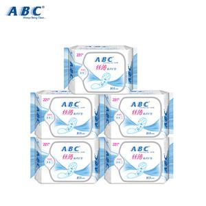 ABC卫生护垫丝薄绵柔110片装