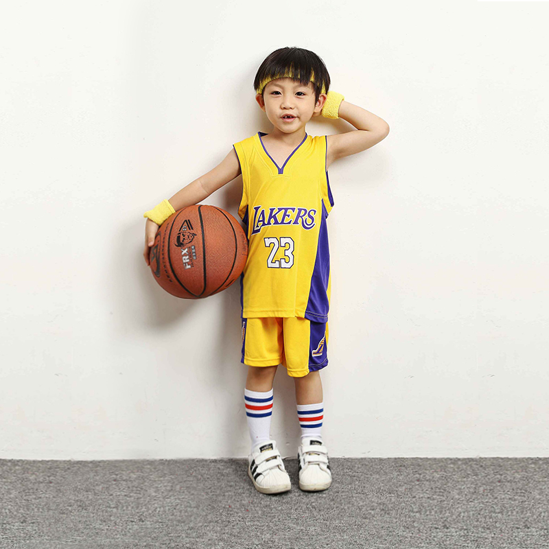 LAKERS YELLOW 23 JAMES