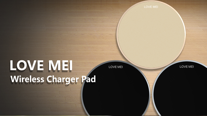LOVE MEI Russo Fast Charging Wireless Charger Pad