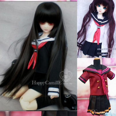 taobao agent SD/BJD 4 points 3 points doll clothes/baby clothes Japanese student sailor clothes 1/3, 1/4, 1/6, giant baby