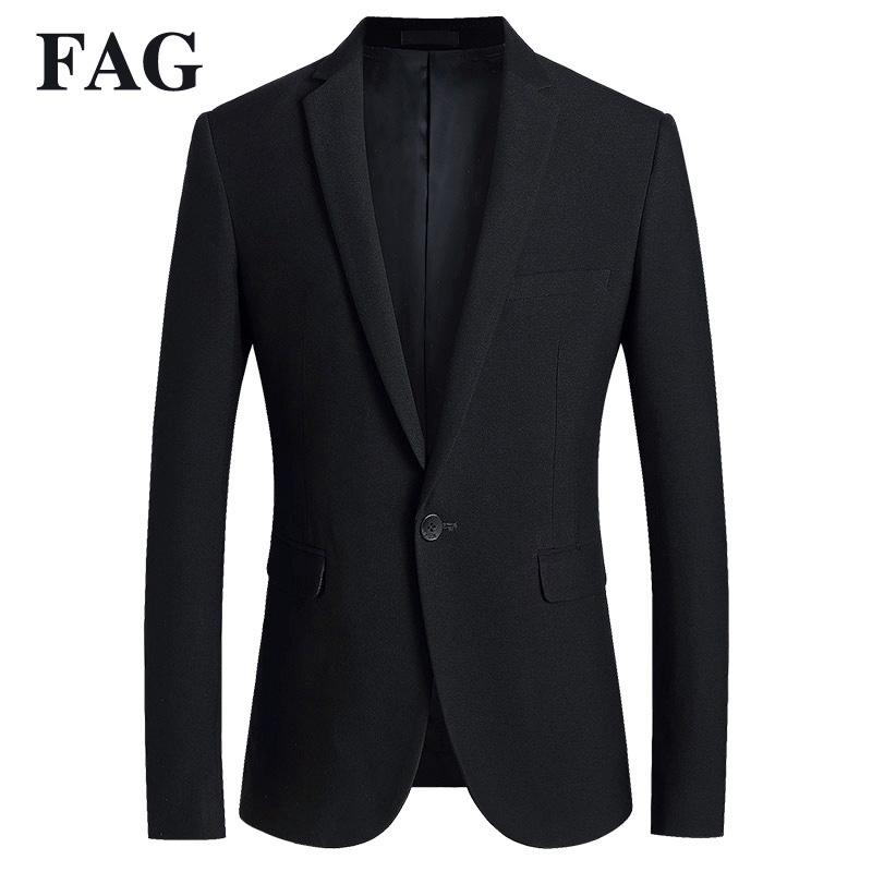 休闲西装男套装春季修身商务正装小西服外套男士一粒扣单件上衣