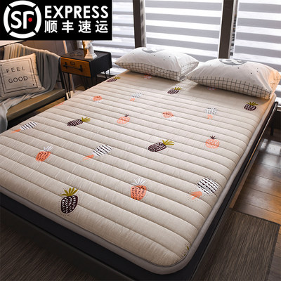 Cotton coarse cloth thickening genius home non-slip floor sleeping pad foldable single diverted tatami mattress