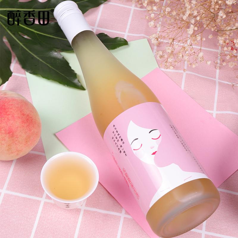 醉香田水蜜桃果酒女士低度甜酒