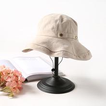 韩版日系百搭防晒防太阳帽子
