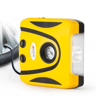 【天天特价】车载充气泵12V汽车车用便携式测压大功率电动打气泵