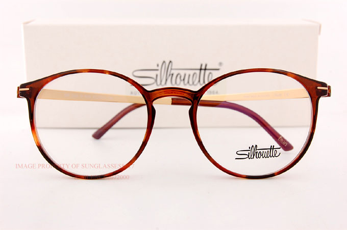 new silhouette eyeglass frames titan accent full rim 2906