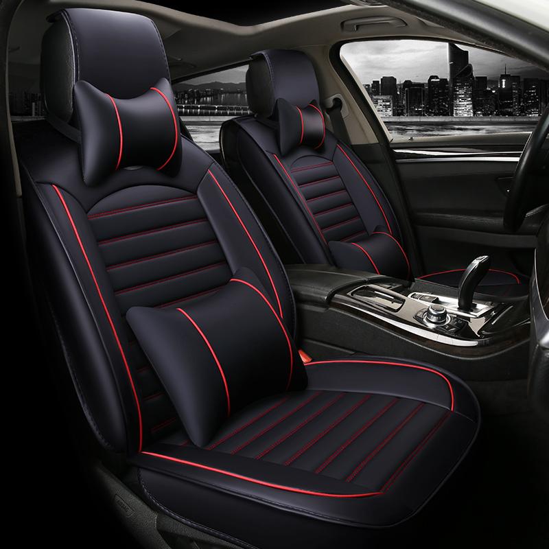 汽车坐垫四季通用大众朗逸汽车座垫透气吸汗全包围汽车座垫通用