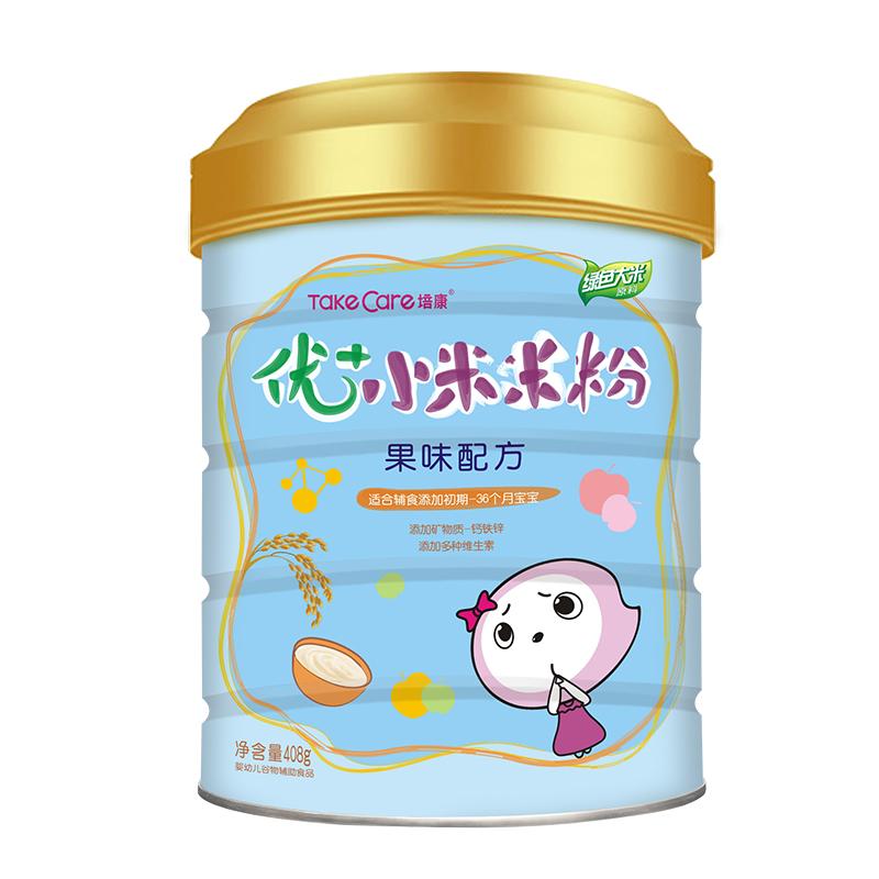 培康婴儿营养钙铁锌辅食6-36个月宝宝米糊米粉1段2段3段桶装408g_领取5元天猫超市优惠券