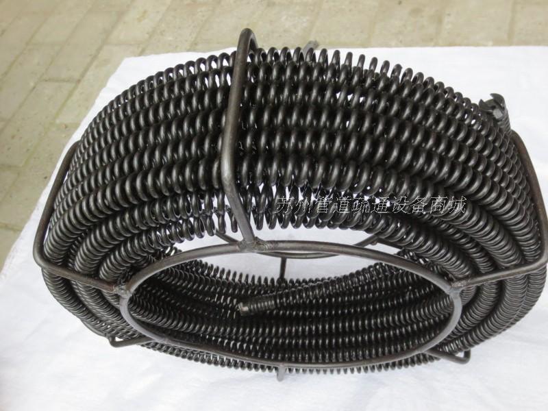 Устройство для очистки трубопровода Труба дноуглубительные машины пружина вала 16мм смелые зашифрованные провода хлыст экскаватора пружинной стали вспомогательное оборудование кабеля 5 м один