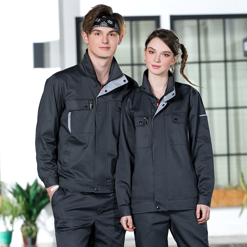 S-5xl!customized Spring And Autumn Long Sleeve Overalls Set For Men And Women Auto Repair Wear-resistant Workers Factory Worksh Pants Cargo Pants