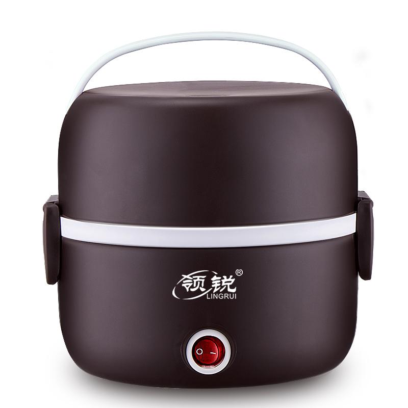电热饭盒保温加热可插电热饭菜神器充电式办公室上班族自热多功能