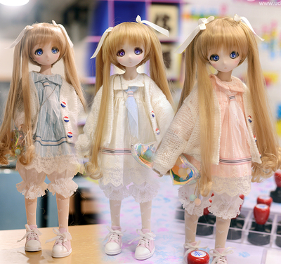 taobao agent 【171020】 4 points BJD giant baby MDD wear baby clothes soft cute sweater sailor 3 colors Shanghai physical store