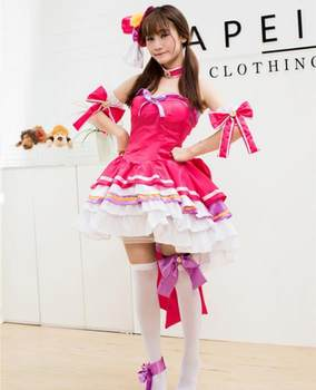 Anime princess pettiskirt lolita dress mobile game king role game cosplay costume