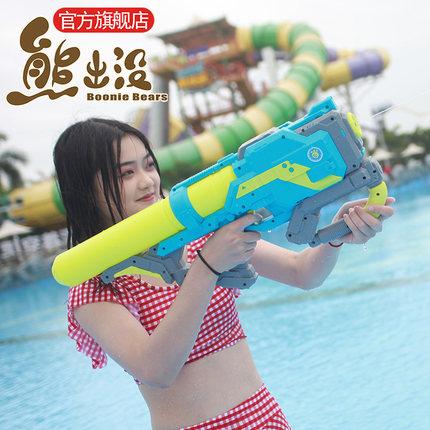 射程6-8米!正版 熊出没 儿童玩具水枪