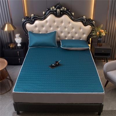 乳胶凉席三件套1.8m床可水洗折叠夏季家用床垫子学生宿舍冰丝席子