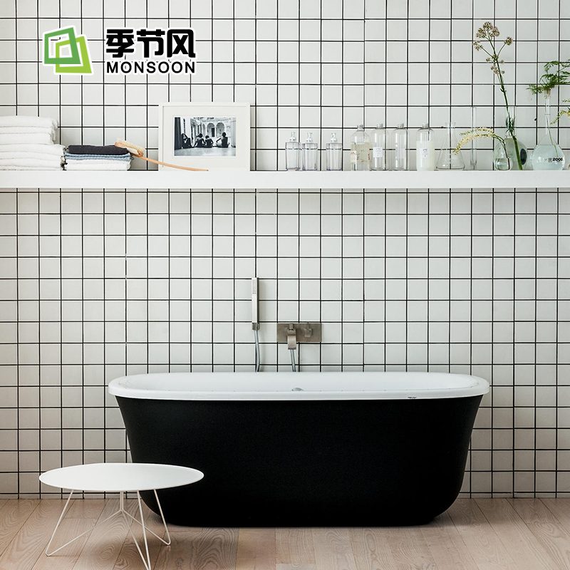 Mosaic Bathroom Bread Brick Toilet Tile
