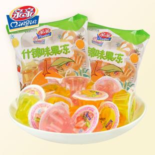 亲亲果冻什锦味水果冻360g*2袋