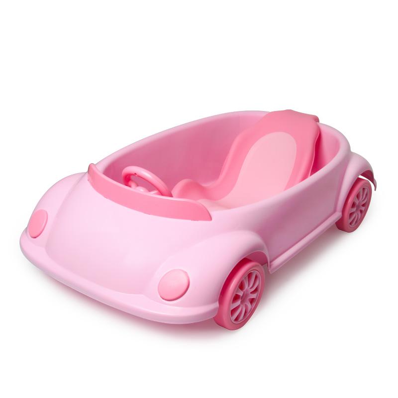 小汽车婴儿可坐躺通用洗澡盆