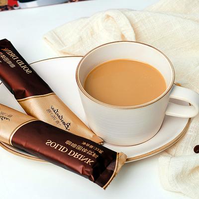 咖啡三合一即溶速溶咖啡摩卡拿铁咖啡粉条装浓缩冲调饮品440g/盒