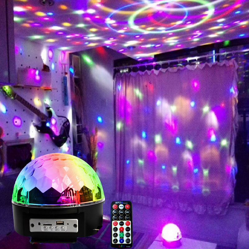 Colorful Lights Flashing String Discoloration Seven Stars Birthday Room Bedroom Layout Decoration Small Ball