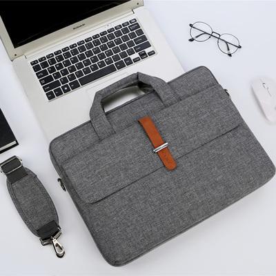 联想戴尔华硕苹果15.6寸17.3男女单肩14手提斜跨13.3笔记本电脑包