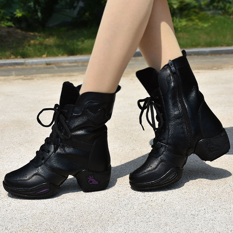 589760a1392 Italy fly spring dance shoes square dance shoes dance boots women's modern  dance shoes dance shoes sailor dance shoes women's leather