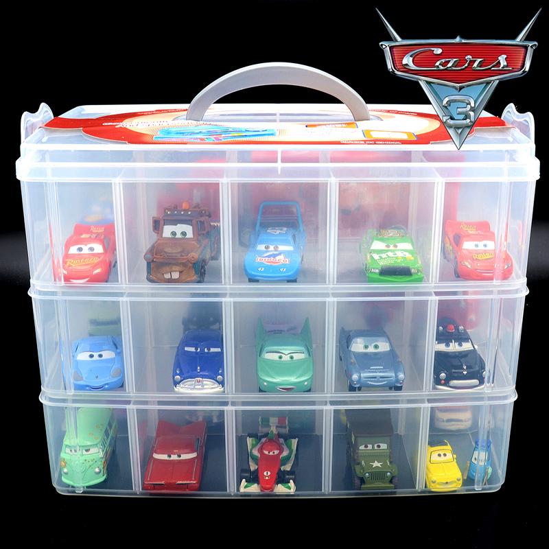 Car Story Toy Car Storage Box Finishing Box Mini Parking Alloy Racing Toy  Storage Box