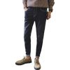 Spring new stretch jeans Korean version of the trend of Slim pants pants men's casual black straight pants
