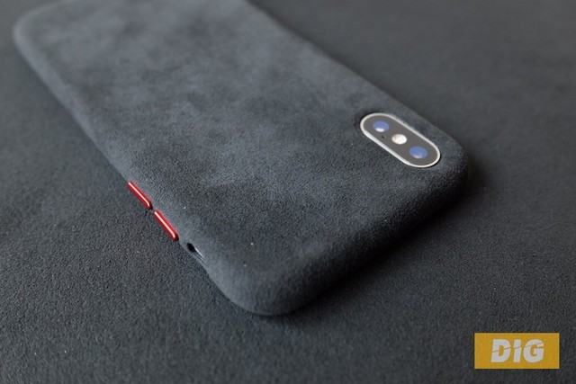 brand new 71dee df7eb 0 Alcantara Phone Cases Covers Microfiber Hydrophobic Water Repellent  Surface Anti Slip Matte Unique Cool iPhone X / iPhone XS, iPhone XS Max,  iPhone ...