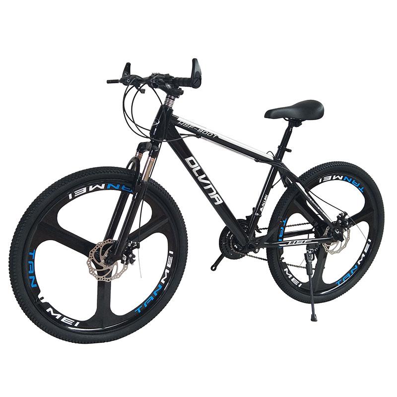 山地车自行车男女学生减震双碟刹变速宝马架型铝合金成人v男女单车