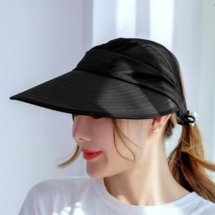 双层大沿防紫外线防晒帽