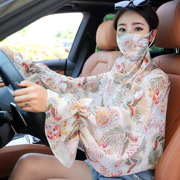 【艾莱客】夏季防晒防紫外线小披肩