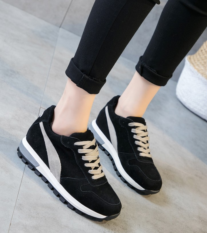 高仿万国iwc黑色真皮内增高休闲鞋LZW267 第24张