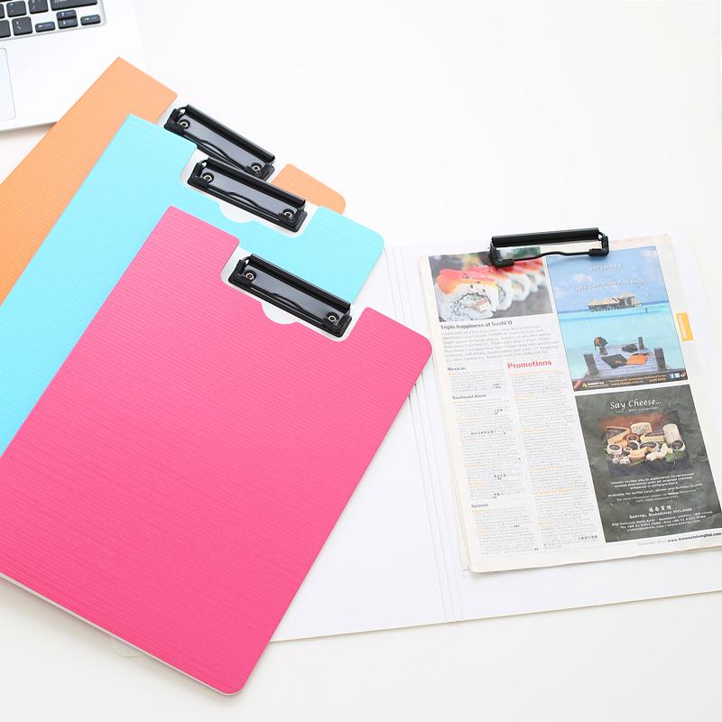 加厚 树德文件夹A4试卷夹 办公用品板夹资料夹 签约本书写垫板夹