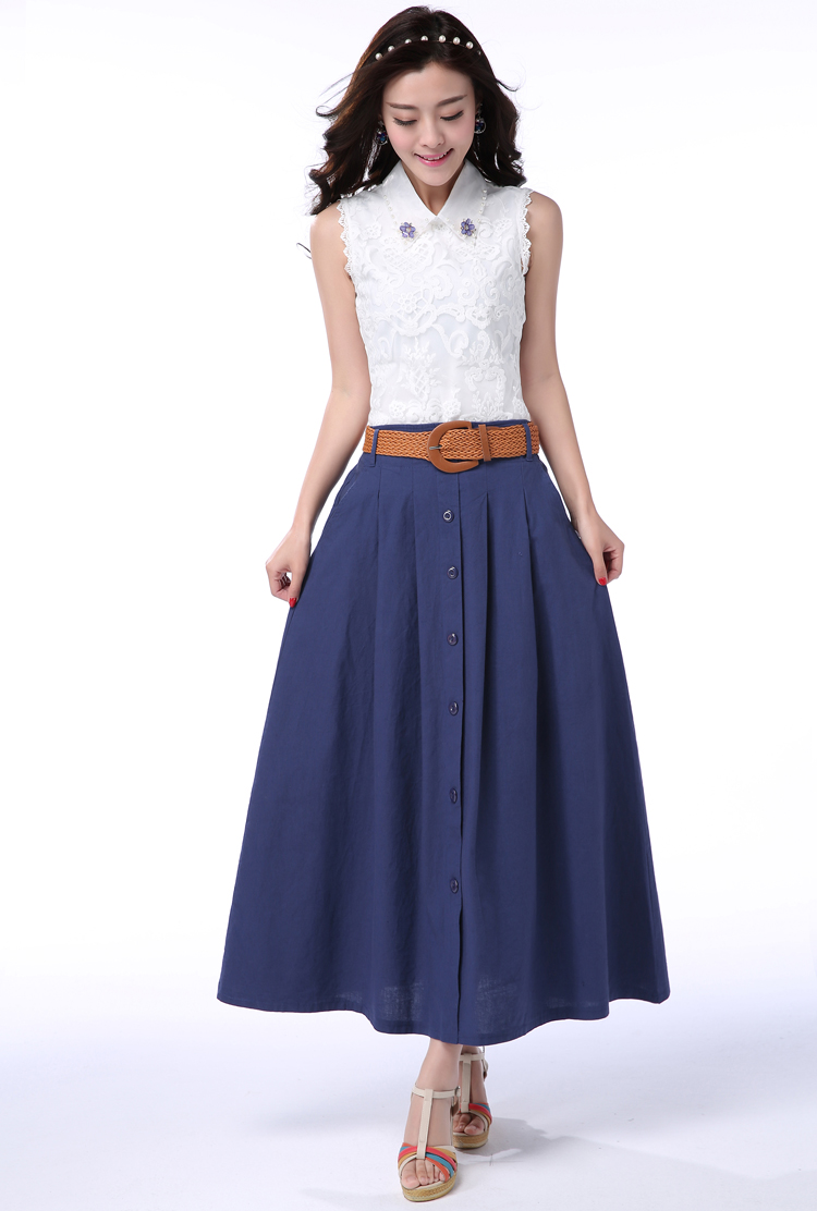 Skirts discount Buttons S-XL 18