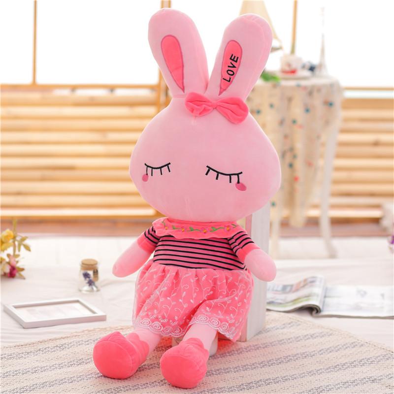 可爱兔子毛绒玩具女生小白兔公仔玩偶娃娃儿童礼物超软女生日礼品_天猫超市优惠券