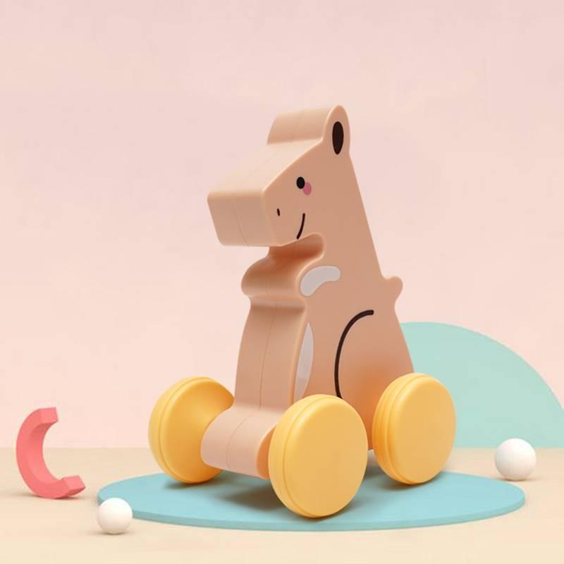 宝宝拖拉牵引玩具学步学爬早教玩具