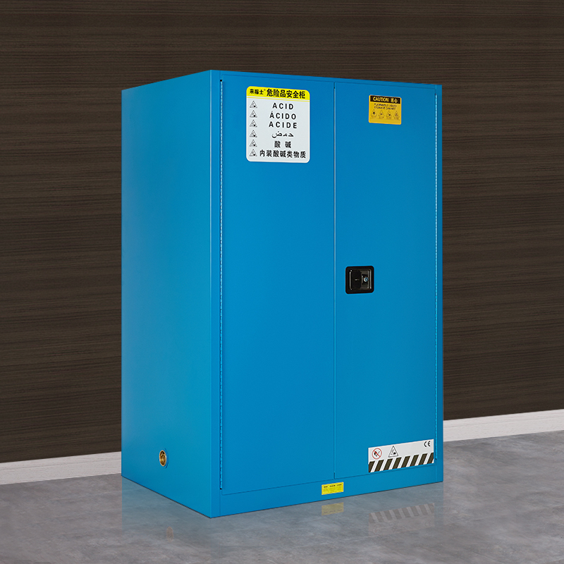 Raffles Blue Chemical Safety Cabinets Acid Corrosive Cabinets Flammable  Liquid Storage Cabinets Hazardous Materials Explosion Proof Cabinet